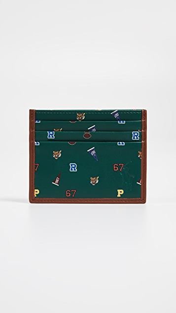 Polo Ralph Lauren Smooth Leather Motif Card Case