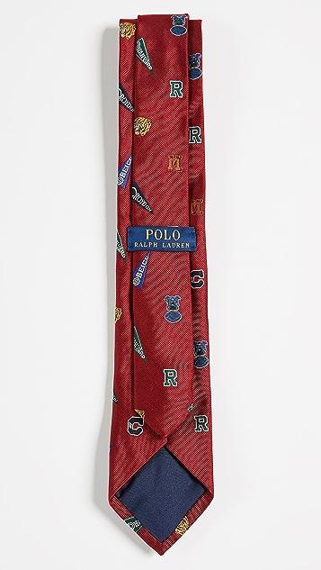Polo Ralph Lauren Multi Mascot Club Tie