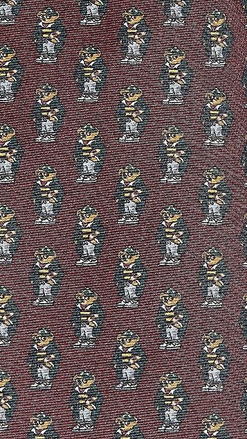 Polo Ralph Lauren Rugby Bear Tie
