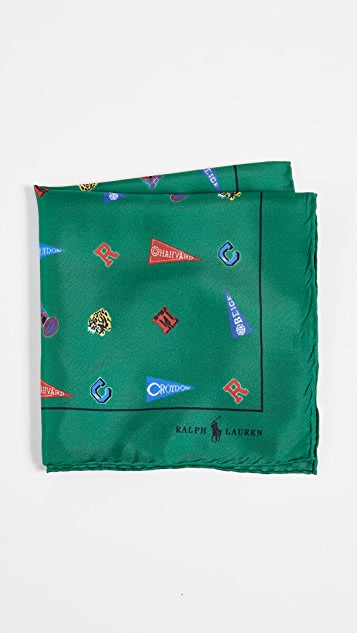 Polo Ralph Lauren Printed Mascot Pocket Square