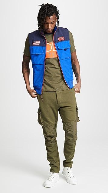 b62cb94d7 ... Polo Ralph Lauren Hi Tech Hybrid Vest ...