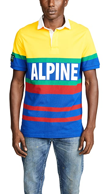 Polo Ralph Lauren Hi Tech Short Sleeve Rugby Polo Shirt