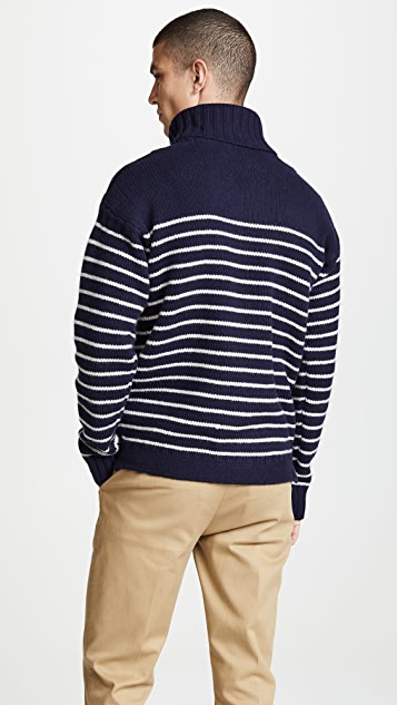 Polo Ralph Lauren Long Sleeve Stripe Turtleneck