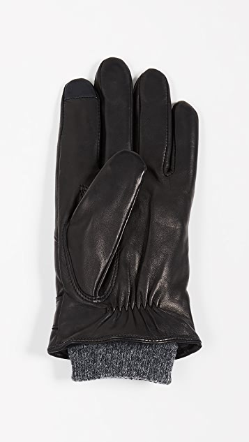 Polo Ralph Lauren Quilted Racing Gloves