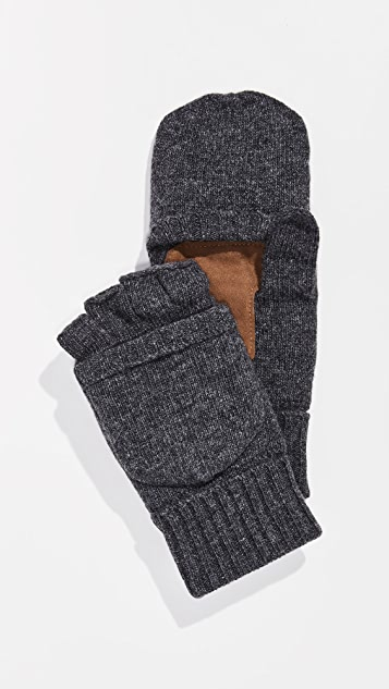 Polo Ralph Lauren Wool Blend Convertible Mittens