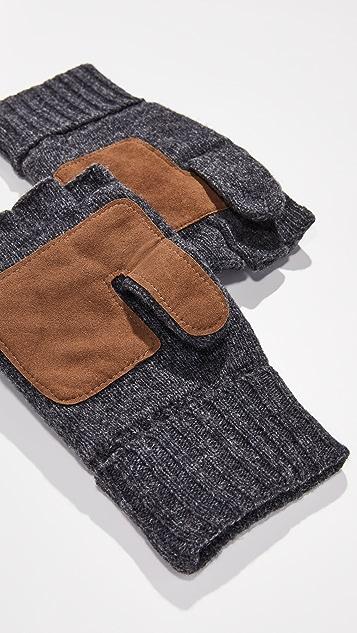 Polo Ralph Lauren Wool Blend Convertible Mittens