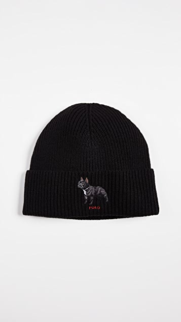Polo Ralph Lauren French Bulldog Watch Cap