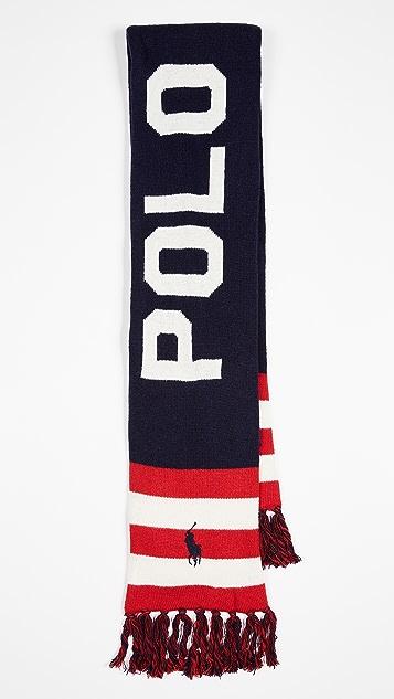 Polo Ralph Lauren Polo RL Stadium Scarf