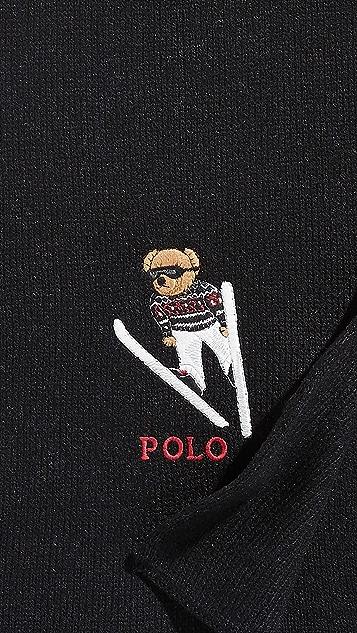 Polo Ralph Lauren Ski Bear Scarf