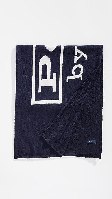 Polo Ralph Lauren Vintage Polo Label Scarf
