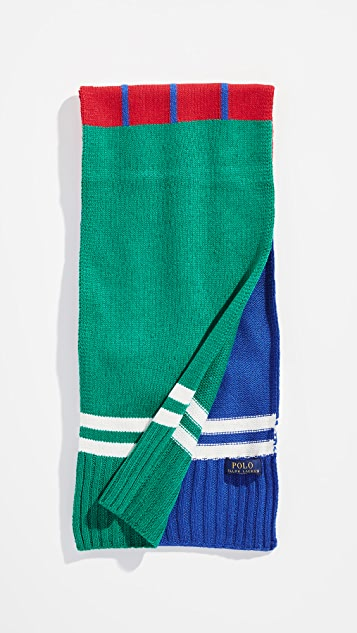 Polo Ralph Lauren Bring it Back Stadium Scarf