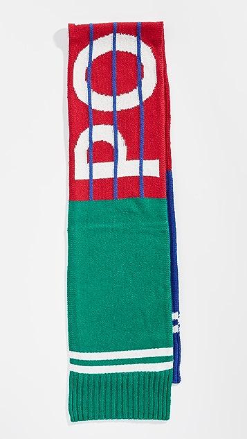 Polo Ralph Lauren Bring it Back Stadium Scarf