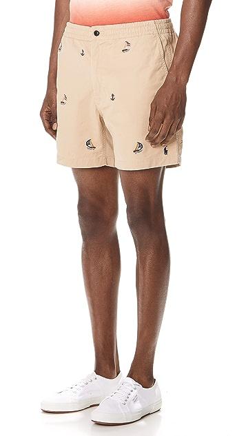 Polo Ralph Lauren Cotton Stretch Twill Shorts