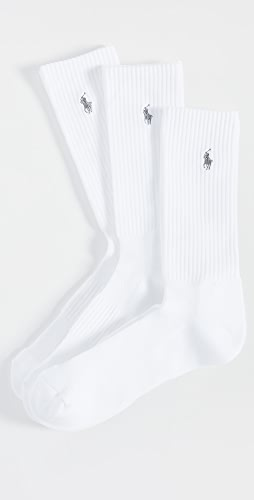 Polo Ralph Lauren - 3 Pack Tech Athletic Crew Socks