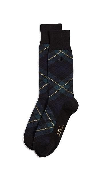 Polo Ralph Lauren Tartan Socks