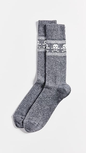 Polo Ralph Lauren Cashmere Blend Skull Socks