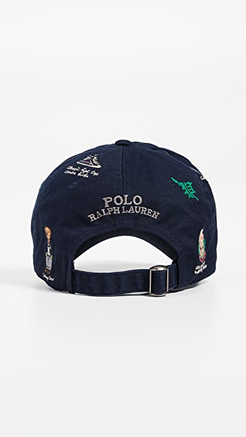 Polo Ralph Lauren Bear Patch Cap