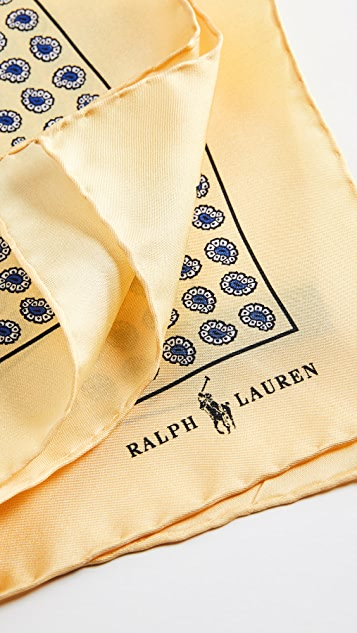 Polo Ralph Lauren Boathouse Foulards Pocket Square
