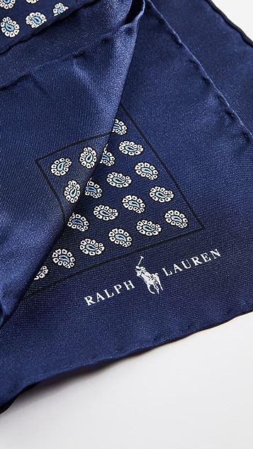 Polo Ralph Lauren Boathouse Foulards Pocket Square