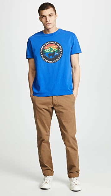 Polo Ralph Lauren Great Outdoors Classic Fit Tee Shirt
