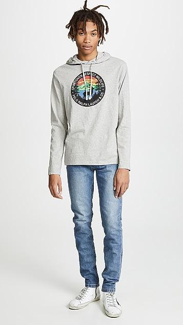 Polo Ralph Lauren Cotton Jersey Hooded Tee Shirt