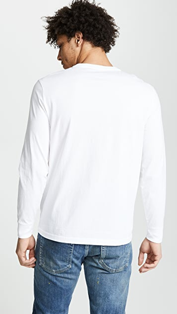Polo Ralph Lauren Great Outdoors Slim Fit Long Sleeve Tee