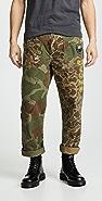 Polo Ralph Lauren Great Outdoors Camo Canvas Patchwork Pants