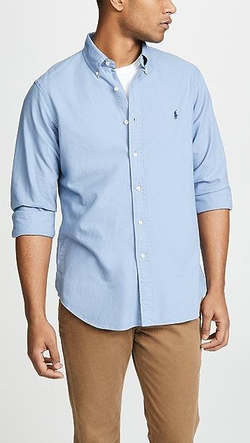 50b79de266a3c Polo Ralph Lauren Classic Fit Oxford Shirt ...