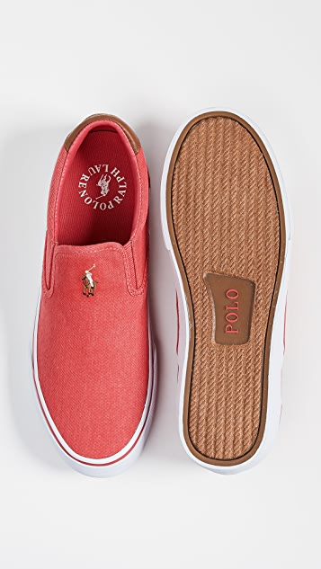 Polo Ralph Lauren Thompson Slip On Sneakers