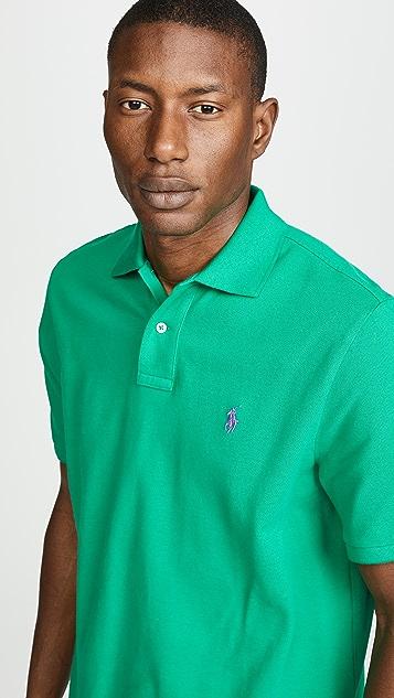 Polo Ralph Lauren Solid Mesh Polo