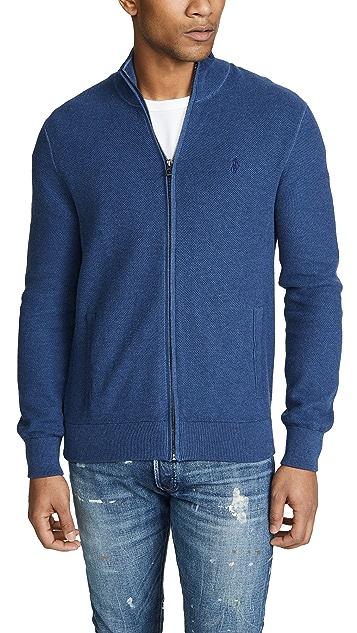 Polo Ralph Lauren Pima Cotton Zip Sweater