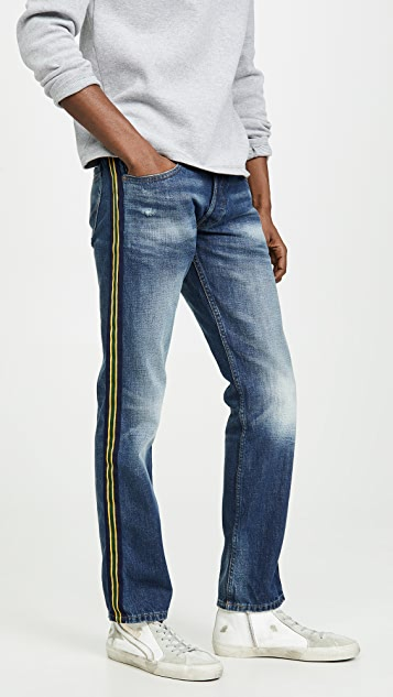 Polo Ralph Lauren Side Striped Denim Jeans