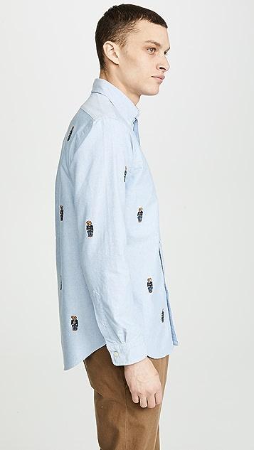 Polo Ralph Lauren Allover Bear Shirt