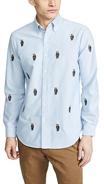 Polo Ralph Lauren Allover Bear Shirt