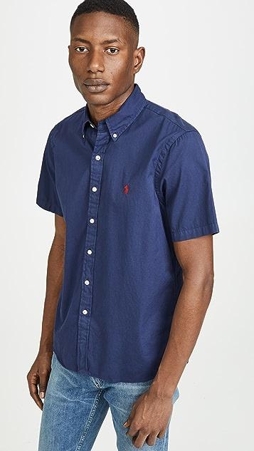c27ab68a40c72 Polo Ralph Lauren Short Sleeve Chino Shirt