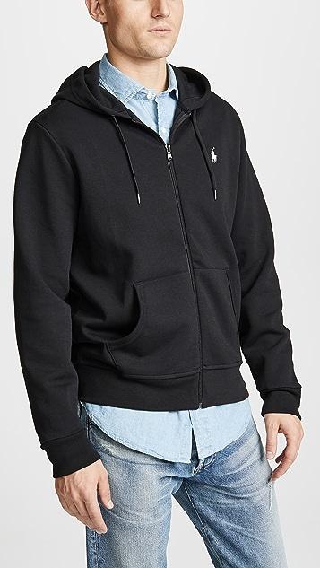 Zip Polo Hoodie Ralph Lauren OPZkuXi