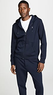 Polo Ralph Lauren Double Knit Full Zip Hoodie