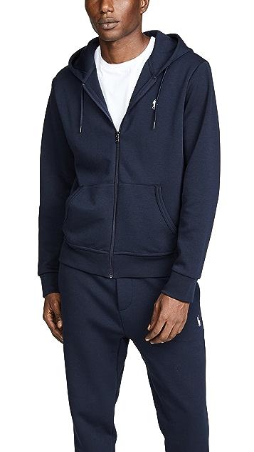 Polo Ralph Lauren Double Knit Full Zip Hoodie