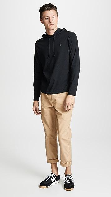 Polo Ralph Lauren Long Sleeve Hooded Tee Shirt