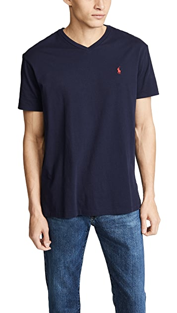 Polo Ralph Lauren V Neck Classic Fit T-Shirt