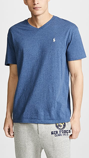 Polo Ralph Lauren V Neck Classic Fit Tee Shirt