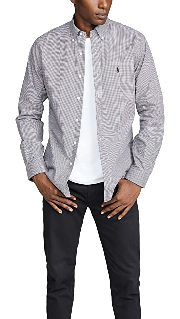 Polo Ralph Lauren Slim Stretch Poplin Shirt