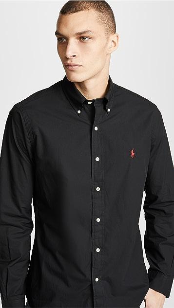 Polo Ralph Lauren Slim Stretch Poplin Shirt