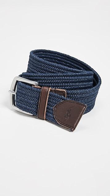 Polo Ralph Lauren 34mm Braided Stretch Belt