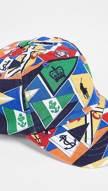 63f776009521f Polo Ralph Lauren Flag Print Cap