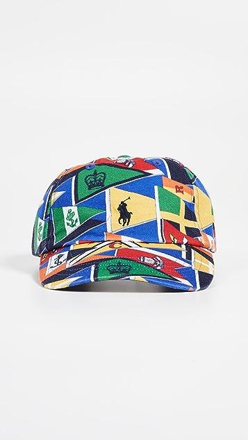 8dfe6180c6a72 ... Polo Ralph Lauren Flag Print Cap ...