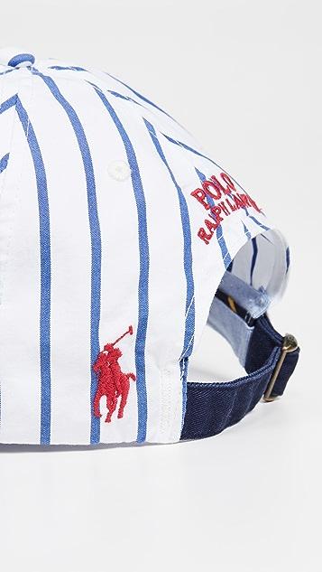 Polo Ralph Lauren Striped Crest Cap