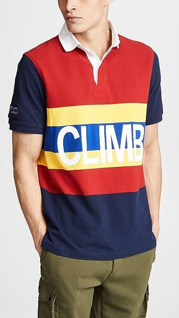 78026a5b4b9 Polo Ralph Lauren Hi Tech Short Sleeve Rugby Shirt | EAST DANE