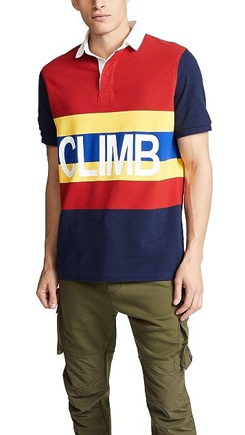 Polo Ralph Lauren Hi Tech Short Sleeve Rugby Shirt