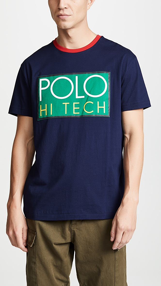 Polo Ralph Lauren Hi Tech Jersey Tee | EAST DANE